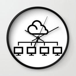 Cloud Technology Wall Clock