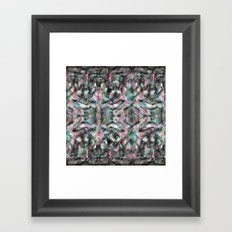 part | unexpected || between | being || 2 Framed Art Print