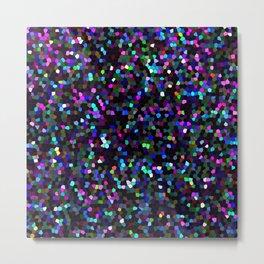 Mosaic Glitter Texture G45 Metal Print