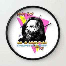 Manson - 'Mmm Bop' Serial Killer idol Series Wall Clock
