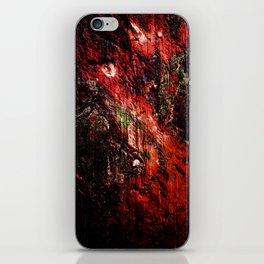 Natural Texture Deep Reds iPhone Skin