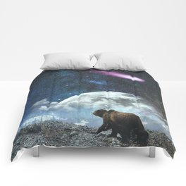 Bears and Falling Stars Comforters