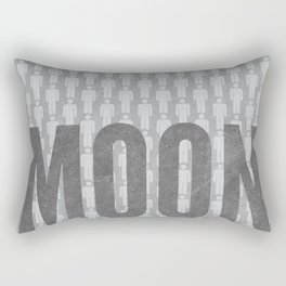 Moon Minimalist Poster Rectangular Pillow