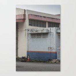 Pastel Factory Canvas Print