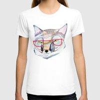mr fox T-shirts featuring Mr Fox by Ashley Percival illustration