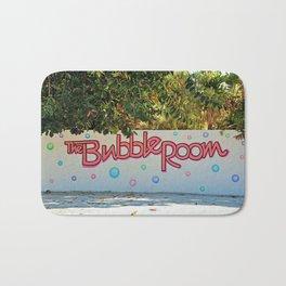 The Bubble Sign Bath Mat