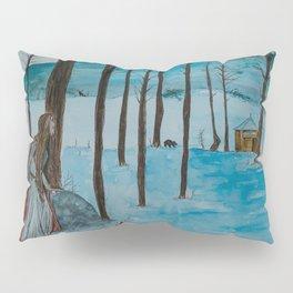 The Mountain Cottage Pillow Sham