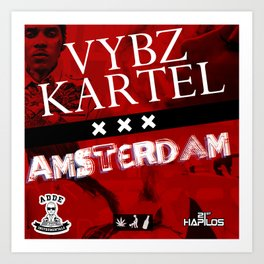 Vybz Kartel - Amsterdam EP Art Print