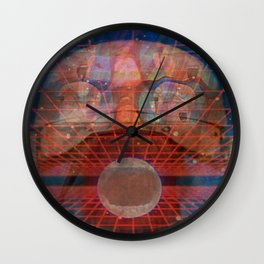 PSYCHOTROPIC THUNDER Wall Clock