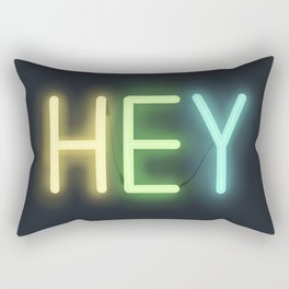 Hey! Rectangular Pillow