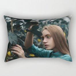 new adam's apple (III) Rectangular Pillow