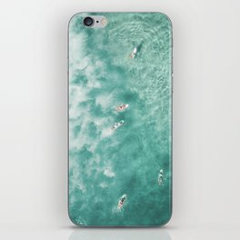 Surfing in the Ocean iPhone Skin