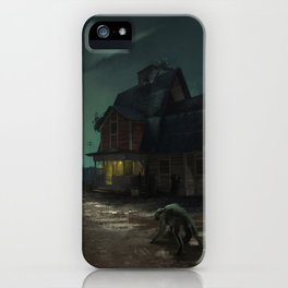 Akeley Ranch iPhone Case