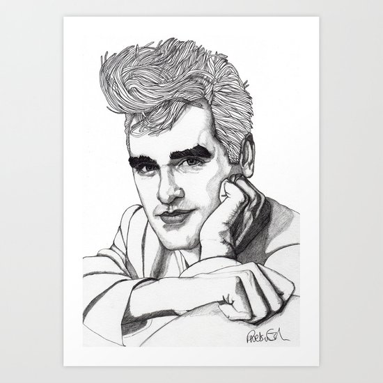 This Charming Man  Art Print