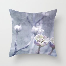 Spring buds Throw Pillow