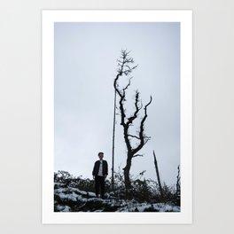 Untitled (boy) Art Print