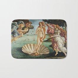 The Birth of Venus by Sandro Botticelli, 1445 Bath Mat