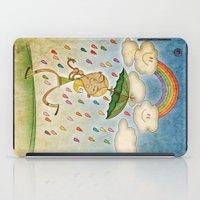 rain iPad Cases featuring Rain by José Luis Guerrero