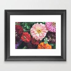 Buy Me Flowers Framed Art Print