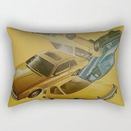 Four Car Pileup Rectangular Pillow