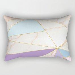 Rose Quart & Purple Spectrum Rectangular Pillow