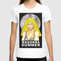 madonna T-shirts featuring Madonna Summer by lavenderpop