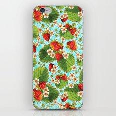 Botanical Strawberries iPhone & iPod Skin