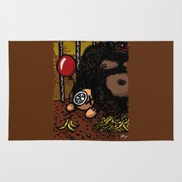 La cage du gorille Rug