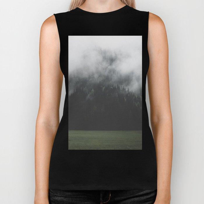 Spectral Forest - Landscape Photography Biker Tank