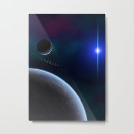 Shooting Stars Metal Print