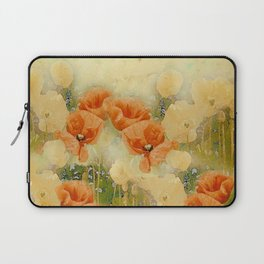 Vintage Poppies Laptop Sleeve