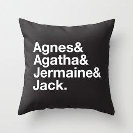 Just a Friend Throw Pillow