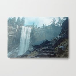 waterfell i Metal Print