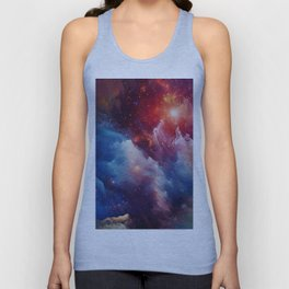 Misterious Space Unisex Tank Top