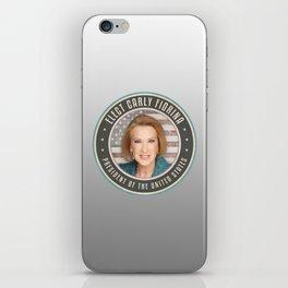 Elect Carly Fiorina iPhone Skin