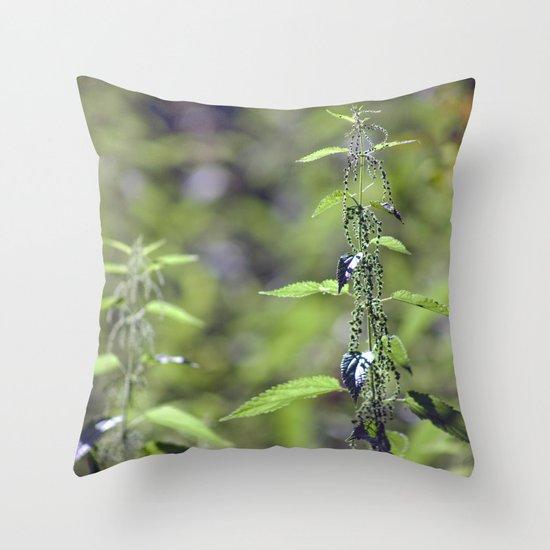 Stinging Nettle 5288 Throw Pillow