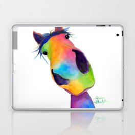 Happy Horse ' HaPPY G & T ' by SHiRLeY MacArTHuR Laptop & iPad Skin
