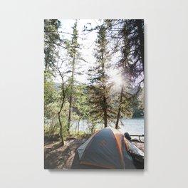 Camp Vibes Metal Print