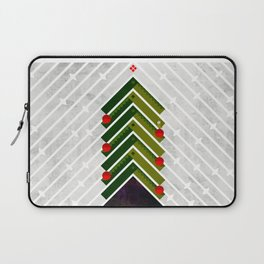084 - Owly sitting the Christmas rocket tree Laptop Sleeve