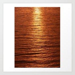 copper sea Kunstdrucke
