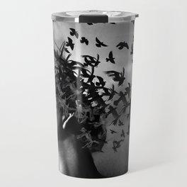 Flock of Crows Travel Mug
