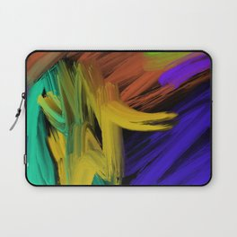 Abstract 3 Painting in Oil Laptop Sleeve