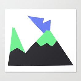 Tictoc Volcano Canvas Print