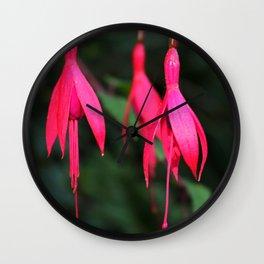 Pink Petals 1 Wall Clock