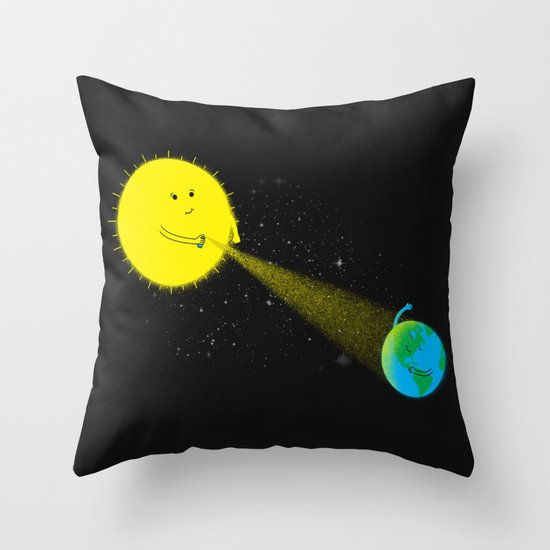 Sp-ray of Hope Throw Pillow