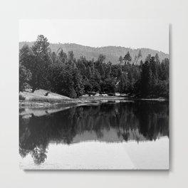 Ewing Reservoir Metal Print
