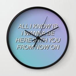 Aquman by Walk The Moon (Lyrics) Wall Clock