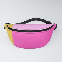 Geometric Bauhaus Style Color Block in Bright Colors Fanny Pack
