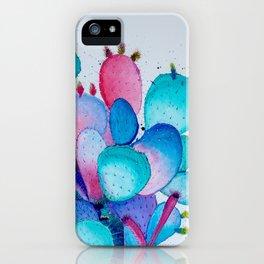 Cacti Frenzy iPhone Case