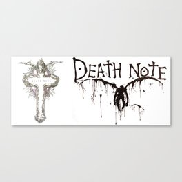 Death Note Ryuk Canvas Print